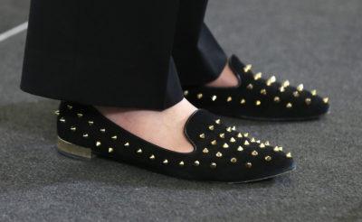 メイ首相の靴